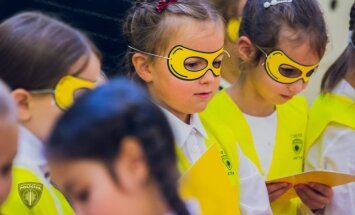 Pieci jautājumi, uz kuriem atbildes jāzina katram bērnam; policija sāk sociālu kampaņu