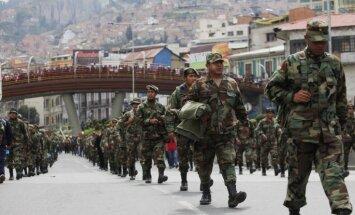 Beķeru streika dēļ Bolīvijā maizi sāk cept armijnieki