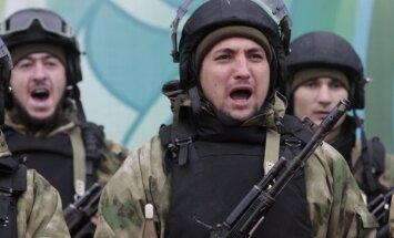 500 Čečenijas policistu atteikušies parakstīt solījumu par jebkuras Putina pavēles izpildīšanu