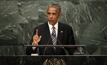 Obama: Krievija cenšas atgūt kādreizējo slavu ar spēku