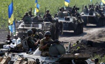Ukrainas kaujinieki nevēlas piedalīties pamiera sarunās