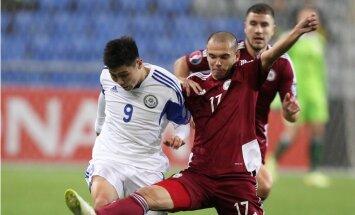 Latvijas futbolisti noslēdz 2016.gada Eiropas čempionāta kvalifikācijas ciklu