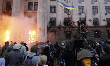 Vairums Odesas traģēdijas upuru miruši no hloroforma gāzes