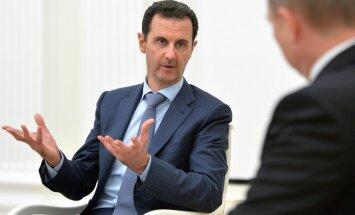 Сирийский лидер Асад согласился с предложением России и США на перемирие