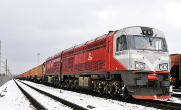 На этой неделе по маршруту Рига-Минск отправлен первый грузовой поезд-экспресс