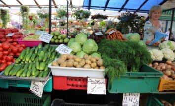 Sankciju kara rezultātā augļu un dārzeņu cenas saruks par 10-20%