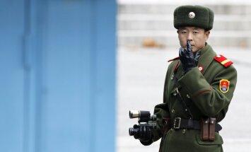Pirms gaidāmā ANO balsojuma Ziemeļkorejā notiek militārās mācības
