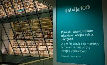 Ar dāvinājumu Tautas grāmatu plauktam atklās Latvijas simtgades gadu