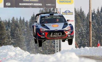 Nevils uzvar WRC Zviedrijas rallijā un kļūst par pasaules čempionāta līderi
