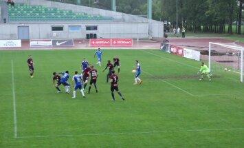 'Jelgavas' futbolisti virslīgas mačā pārspēj RFS komandu