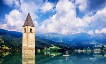 Torņi, kas slejas no dzelmes: sešas baznīcas, kas upurētas progresam un spēkstaciju būvniecībai