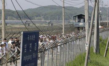 Sieviešu miera gājiens šķērsojis Koreju demilitarizēto zonu