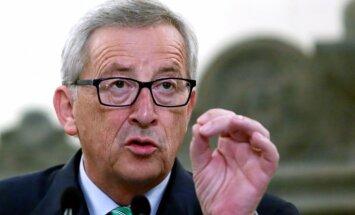 ES cienīs Katalonijas balsojumu par neatkarību, pauž Junkers