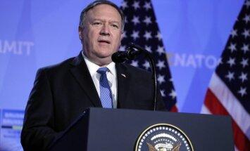 Eiropas valstīm jāieņem stingrāka nostāja pret Irānu, mudina Pompeo