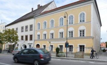 Austrija nojauks Hitlera dzimtās mājas