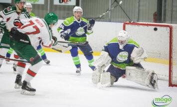 'Liepāja'/'Optibet' viesos uzvar OHL līderu spēlē