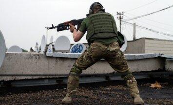 Ukrainā uzspridzināts viens no prokrievisko teroristu bandu vadoņiem