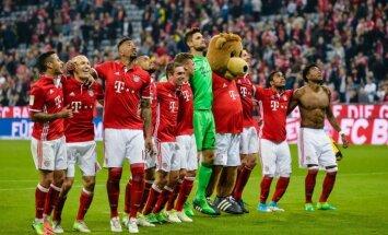 'Koln' bez Rudņeva zaudē bundeslīgas mačā; Vācijas grandu duelī 'Bayern' uzvar Dortmundi