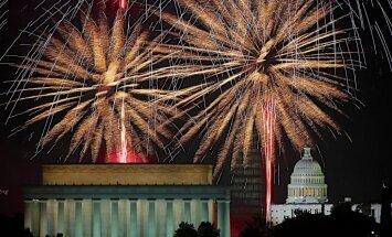 Fotoreportāža: amerikāņi svin Neatkarības dienu