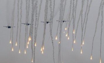 Pērn Baltijas robežu tuvumā NATO iznīcinātāji biežāk pavadīja Krievijas lidmašīnas