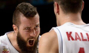 Raduljica savainojuma dēļ nevarēs palīdzēt Latvijas pretiniecei Eiropas čempionātā Serbijai