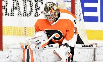 'Flyers' Stenlija kausā uzvar 'Capitals' un izvairās no izstāšanās