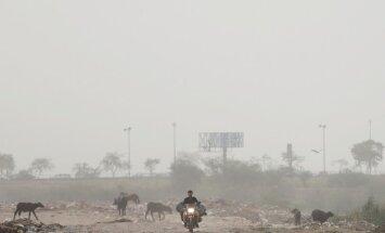 Deli iedzīvotājus smacē toksiski putekļu mākoņi
