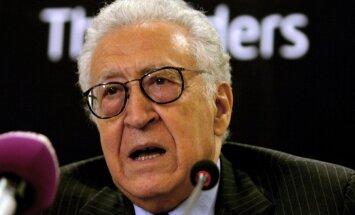 Brahimi izstrādājis Sīrijas miera plānu, kas varētu gūt arī Krievijas atbalstu