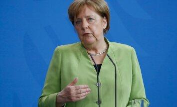 Merkele vēlreiz apstiprina: Eiropa vairs nevar paļauties uz ASV aizsardzību