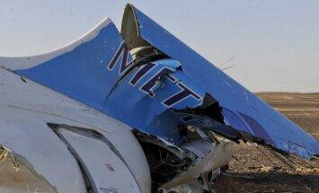 Krievijas lidmašīnas katastrofā Sīnāja pussalā bojā gājuši vairāk nekā 200 pasažieri (plkst. 22:11)