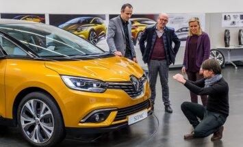 'Renault' iepazīstina ar jauno 'Scenic' un tā tapšanas vēsturi