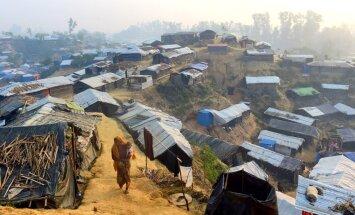Rohindži varēs atgriezties mājās, vienojas Bangladeša un Mjanma