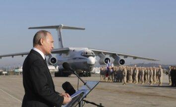 Путин назвал число воевавших в Сирии россиян