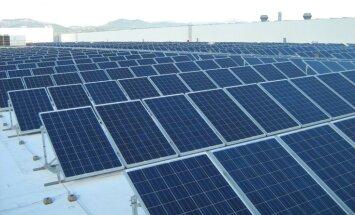 Latvijā uzbūvēta Baltijā lielākā saules elektrostacija