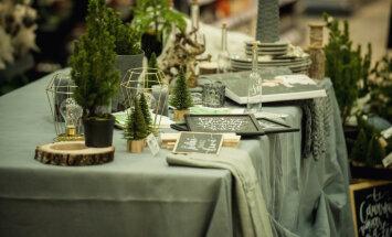Kā radīt svētku noskaņu un mūsdienīgi klāt galdu – stāsta dekoratore Baiba Prindule