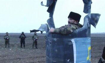 Ukraina: Krievija uz Krimas-Ukrainas robežu nosūtījusi tankus un 'Grad'
