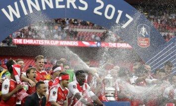 'Arsenal' trešo reizi pēdējo četru gadu laikā izcīna Anglijas FA kausu