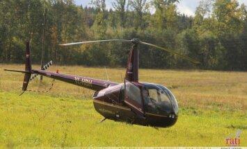 """В клинике Страдиня спасли жизнь пилоту вертолета, рухнувшего в ходе ралли """"Лиепая"""""""
