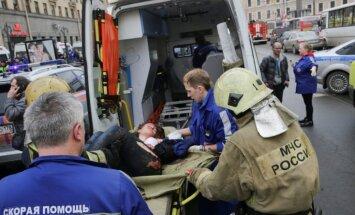 Krievijas specdienesti zinājuši par Sanktpēterburgas terorakta gatavošanu