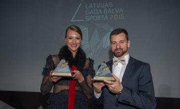 Martins Dukurs un Ikauniece-Admidiņa - 2015. gada Latvijas labākie sportisti