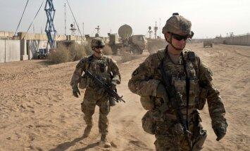 Pēc 'Daesh' sakāves ASV sāk karaspēka izvešanu no Irākas