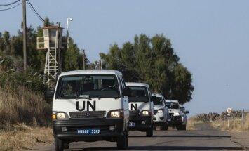 ANO: Krievijai ir liegts nosūtīt karavīrus uz miera uzturēšanas misiju Golānas augstienēs