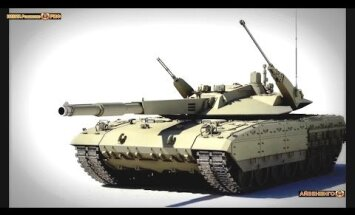 Krievija 9. maija parādē demonstrēs nākamās paaudzes tanku 'T14 Armata'
