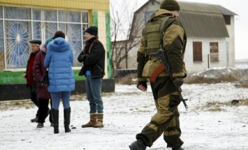 Ukraina informē ANO DP par Krievijas mēģinājumiem saasināt situāciju Donbasā