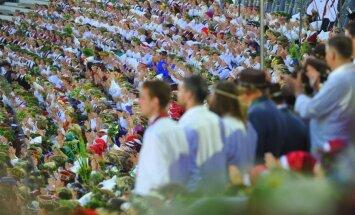 Dziesmu svētku pasākumiem nedēļas garumā - pusmiljons apmeklējumu