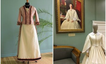 Lielvircavas un Vilces muižās tapuši jauni 19. gadsimta stila tērpi