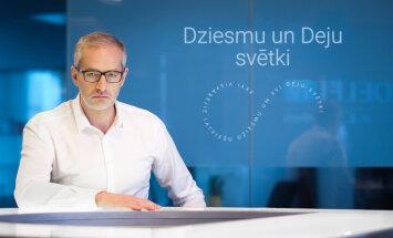 'Delfi TV ar Jāni Domburu' – pulksten 14 atbildēs Dziesmu un Deju svētku komanda