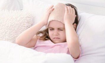 11 gadus vecai meitenei migrēna; komentē bērnu neiroloģe