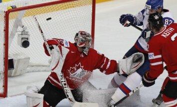 Kanādas hokeja izlase papildina sastāvu uz PČ