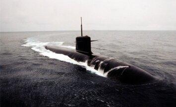 Krievijas zemūdene piektdien izbraukusi no Baltijas jūras